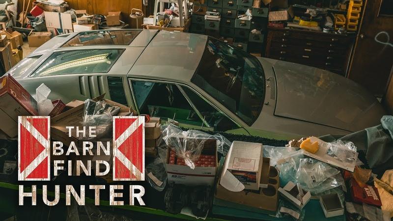 De Tomaso Mangusta, Lamborghini Espada, need we say more | Barn Find Hunter - Ep. 48