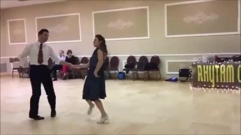 Band ODESSA - Ах эта ночь -Танцуют Штефан Зауэр и Сандра Рёттиг