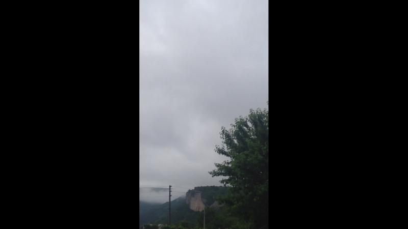Утро туманное предпраздничное