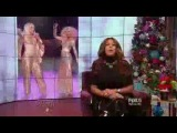 Wendy Williams Hot Topics - Xtina and Gaga's EPIC Voice Finale Performance (Dec 17 2013)
