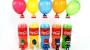 Learn Colors Balloons Bottles Beads and Balls - Learn Colors Pj Masks Colored water Surprise Toys
