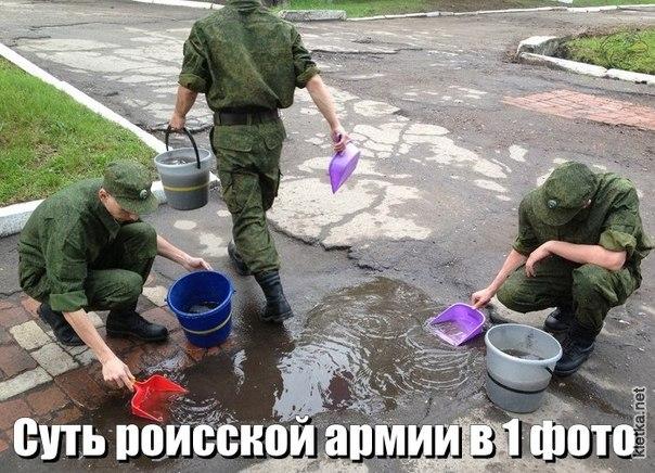 Вся суть российской армии