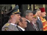 Памятник столичным пожарным открыли в центре Москвы