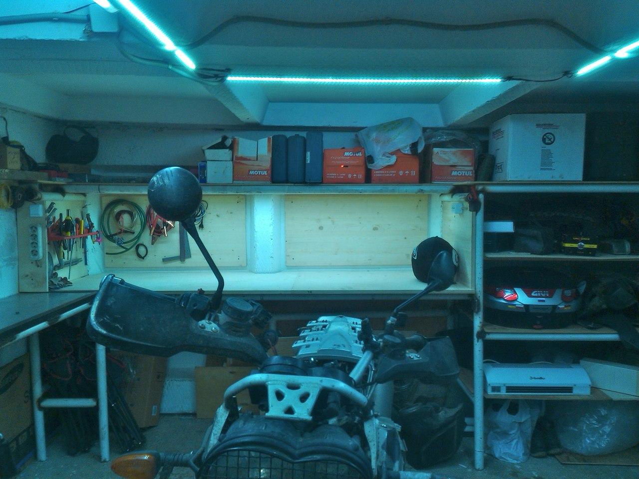Светодиодное освещение в гараже - Lights-Market 31