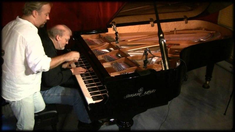 Near Eclipse - David Nevue Joe Bongiorno piano duet - Shigeru Kawai SK7L Piano Haven