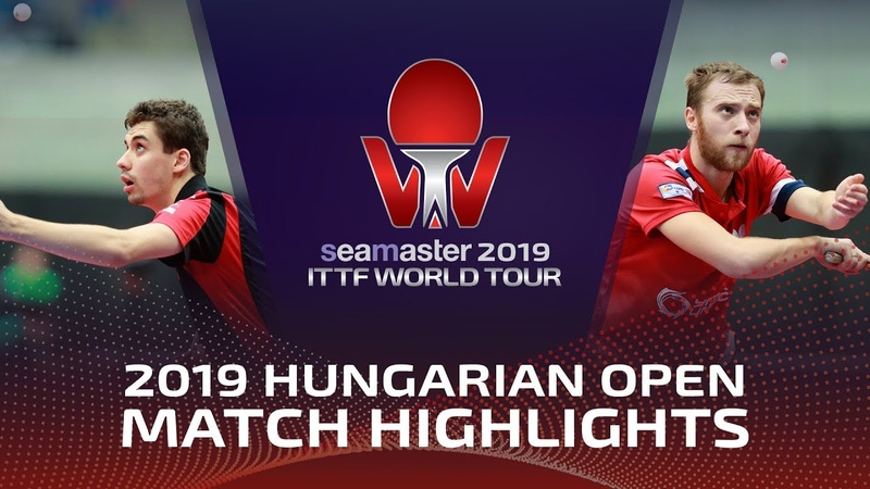 Alexander Shibaev vs Jakub Dyjas 2019 ITTF World Tour Hungarian Open Highlights Pre