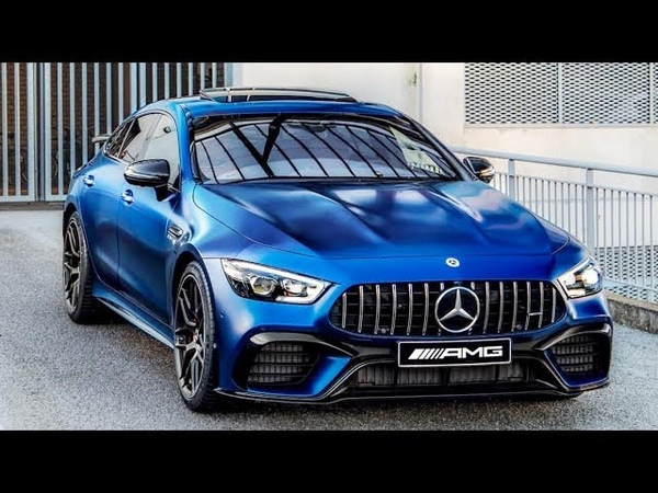 2019 Mercedes-AMG GT 63 S (630HP) - FASTEST / HOTTEST 4 Door Car On EARTH!