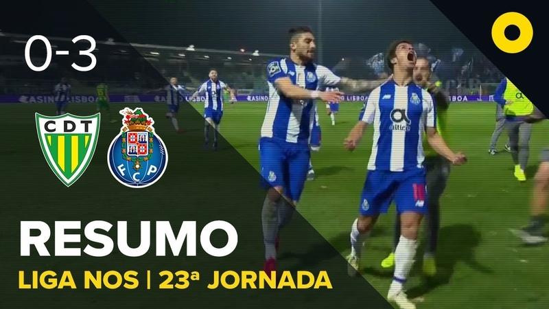 Чемпионат Португалии 23 тур Тондела 0 3 Порту
