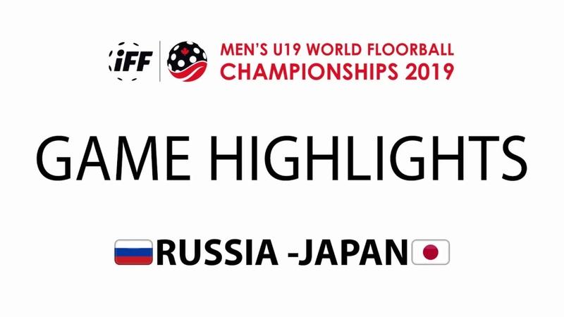 2019 Men's U19 WFC - RUS vs JPN Highlights