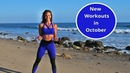 What's New in October Pilates Yoga Cardio Abs More