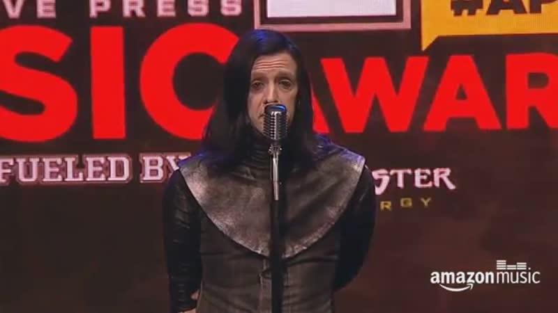Twiggy Ramirez Marilyn Manson @ Alternative Press Music Awards