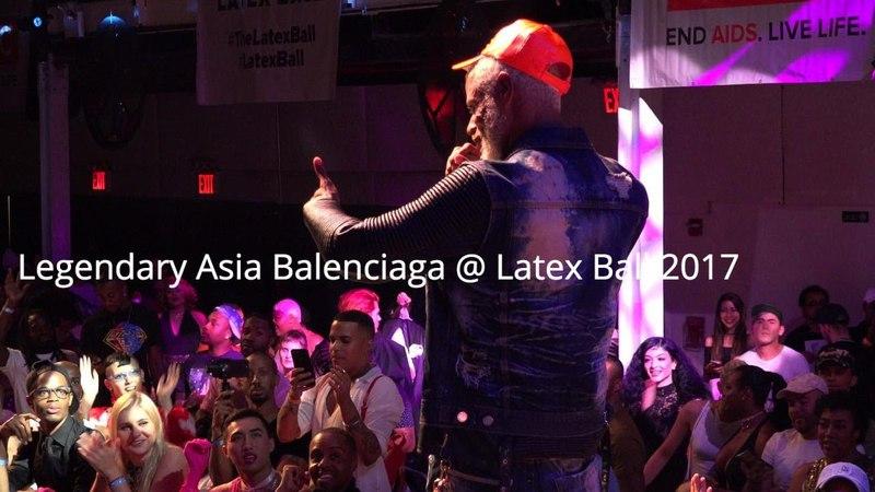 Legendary Asia Balenciaga @ Latex Ball 2017