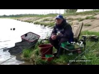 Ловля карпа на фидер весной ч.1 (обучающее видео) [uroki-online.com]