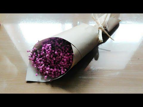 จัดช่อดอกไม้แห้ง1