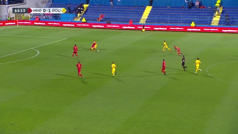 Лига Наций 2018-19 / Лига C / Группа 4 / 6-й тур / Черногория - Румыния / 2 тайм