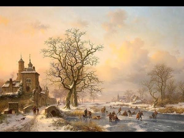 Fredrik Marinus Kruseman (1816–1882) Dutch painter ❄ Kitaro / Winter Waltz