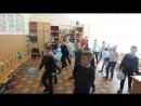Флешмоб Всероссийской акции Голубая лента учащихся 3 А класса МБОУ г Шахты