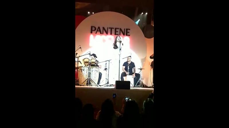 Шоу-кейс на презентации Pantene Micelar [08.08.18]