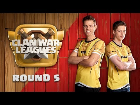 Clan War Leagues - OneHive - Clash of Clans - Round 5 |Sc studio