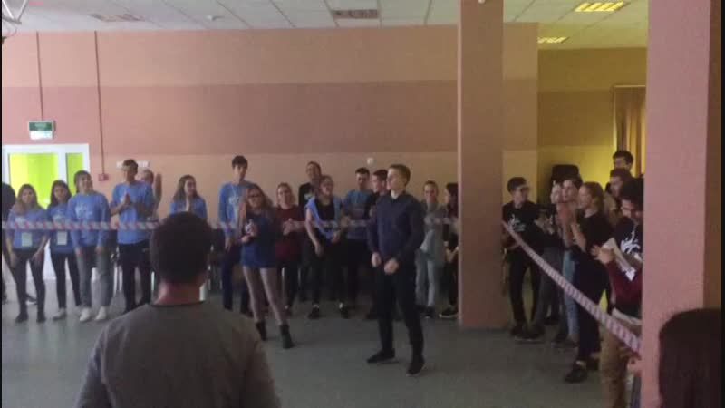 Танцевальный батл на ША