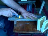 рамочки для секционного мёда на пасеке Малышева