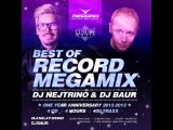 DJ NEJTRINO VS DJ BAUR - Best Of RECORD MEGAMIX CD 1