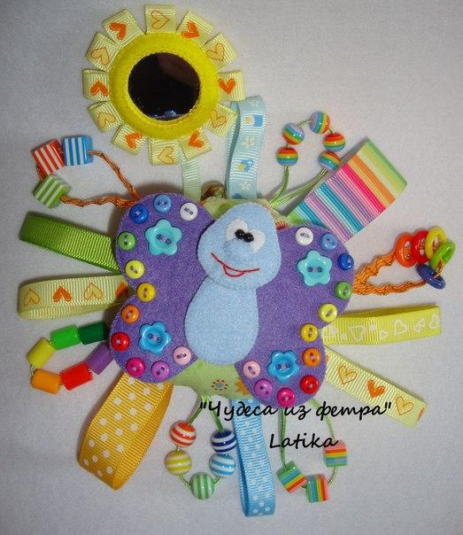Развивающие игрушки из фетра с выкройками своими руками