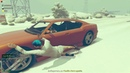 GTA 5 Online И наступила зима Игра в снежки И снова читеры Часть 2