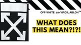 What Do the Off White Arrows Mean! Questioning Virgil Abloh's Off White Logo