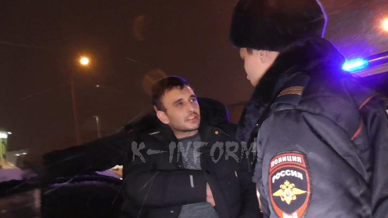 Водитель Спектры пытался скрыться от ППС с компанией в Сургуте