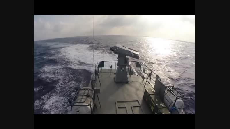 Пуски ракет Spike зі швидкісного катеру