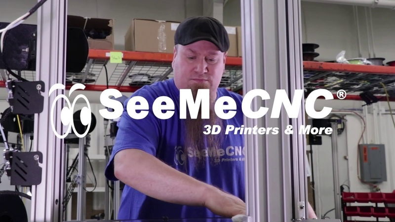 The BOSSdelta™ 3D Printer from SeeMeCNC® | Details, Features, and Specs