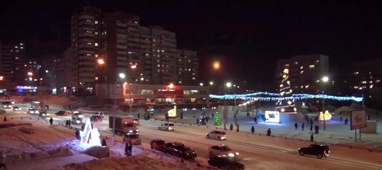 Ледовые городки Усть-Илимска огорчили горожан «скромным» наполнением