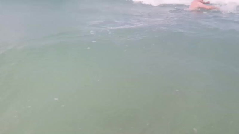 Пляж Аль Мамзар волна 3