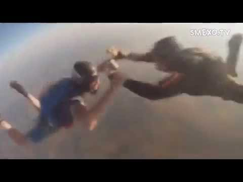 Камера упала с высоты 3000 м