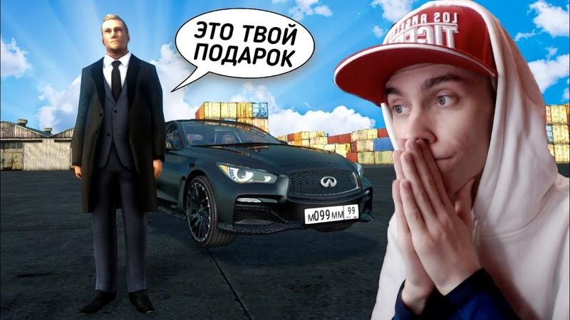 АВТОРИТЕТ ПОДАРИЛ МНЕ ИНФИНИТИ GTA РОССИЯ RPBOX 5 сервер