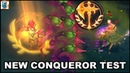 New Conqueror Precision Keystone Test 25 Interactions Champions Items League of Legends