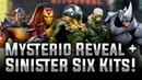 Mysterio Reveal + Sinister Six Kits! - MARVEL Strike Force
