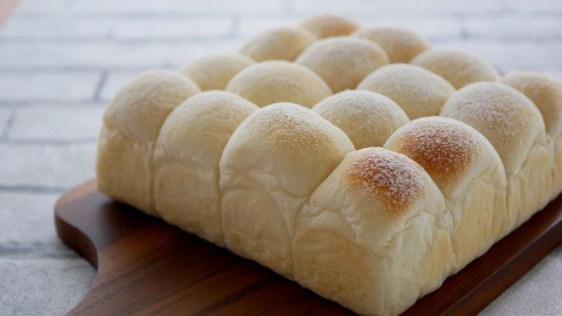 ふわふわ~柔らかすぎるミルクパン♪Soft and Fluffy Milk Bread