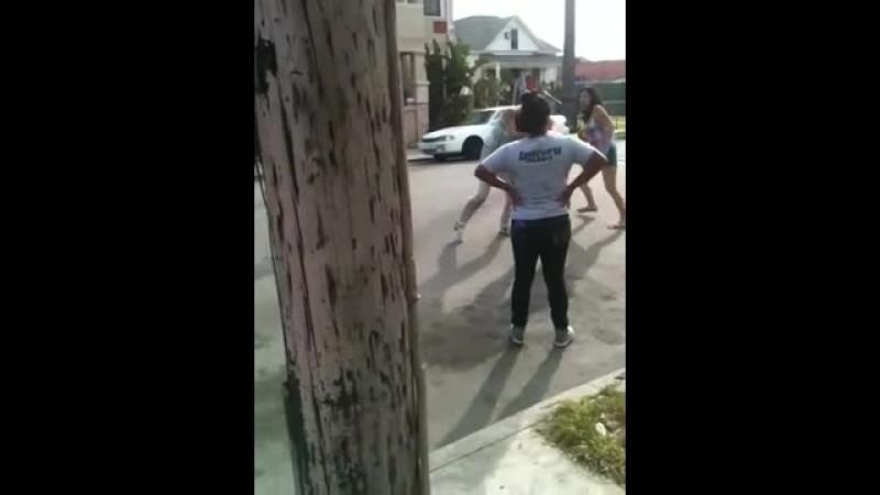 Catfight on 31st street