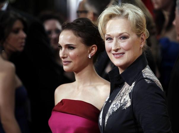 Натали Портман три года подряд по ошибке приглашала на семейные праздники Мерил Стрип
