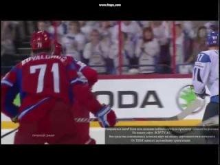 Илья Ковальчук драка с финном Янне Песонена.