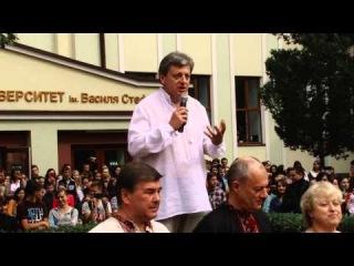 Ректор Прикарпатського національного університету прийняв виклик #IceBucketChallenge