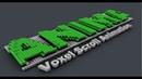 Voxel Title Animation using Volume Effector in Cinema 4D Tutorial