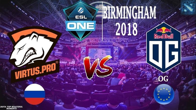 Vs OG BO1 ESL One Birmingham 2018 LAN DAY 2 24 05 2018
