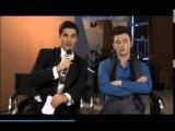 Darren Criss Quizzes Lea Michele and Chris Colfers Broadway Knowledge!