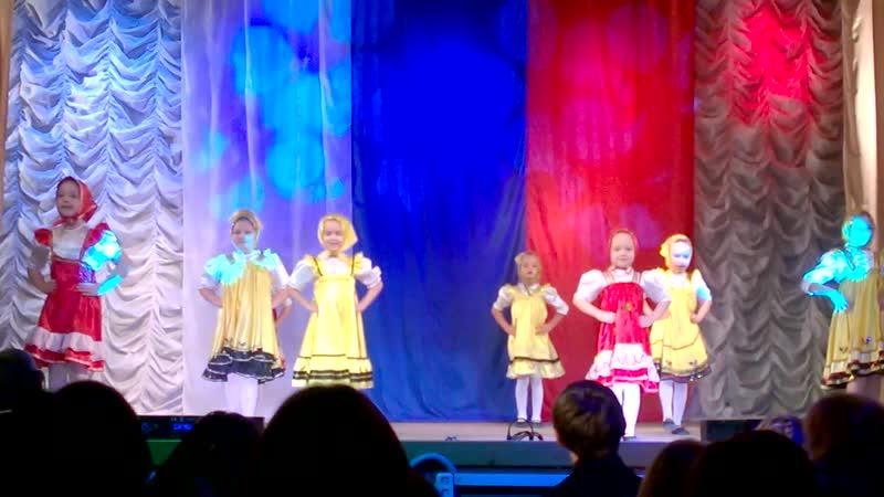 Сени мои сени, русский танец, колл-в Варенька 03.11.18.