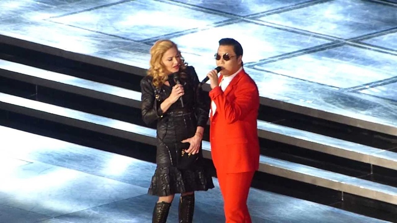 ]V[DNA tour New York City 11-13-12 Madonna Ft PSY Give it to me Gangnam StyleMusic.