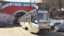 Трамвай 71 619 КТМ 19 №5270 с маршрутом Б Курский Вокзал Сокольническая Застава