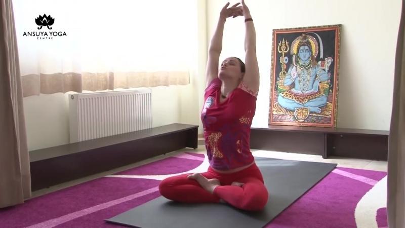 Йога Снимаем напряжение с мышц шеи и плеч